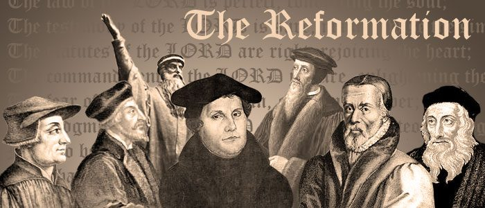 The Beginning of the 500th Reformation Year